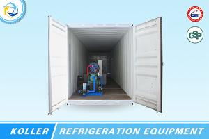Containerized Ice Block Plant